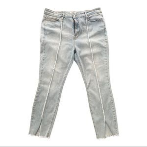 Good American Cropped Jeans Size 18
